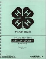 Title Page, Allegan County 1972